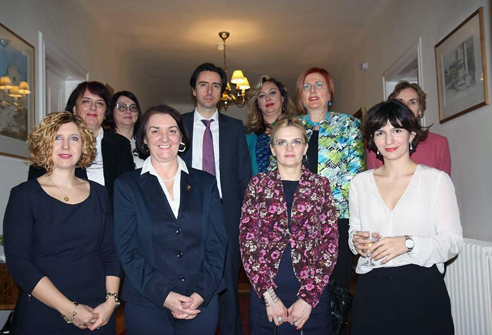 Reception at the British Embassy