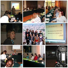 Женска политичка академија, Сарајево
