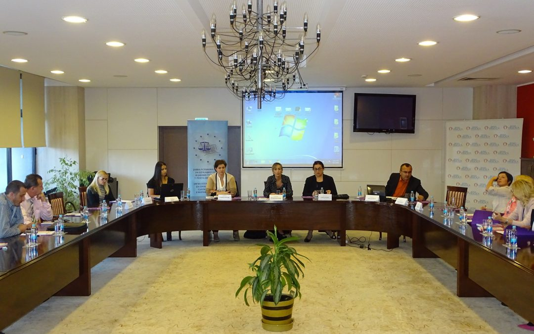 Training for judges and prosecutors