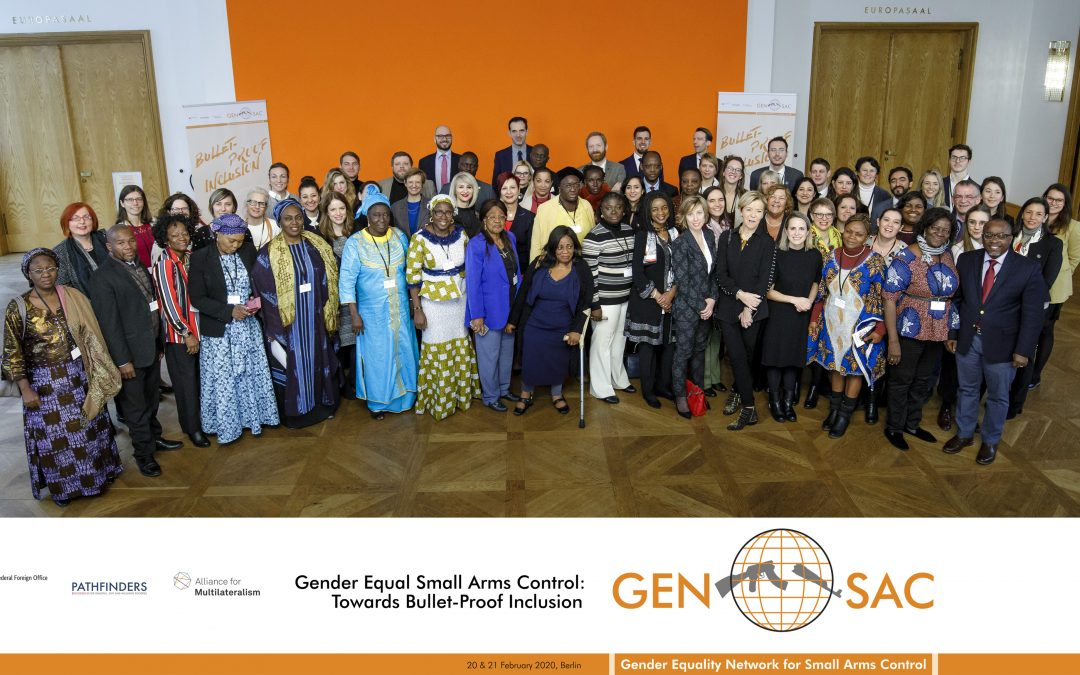 """""""Gender Equal Small Arms Control – Towards Bullet-Proof Inclusion – Gender Equality Network for Small Arms Control (GENSAC) Conference"""", Berlin"""