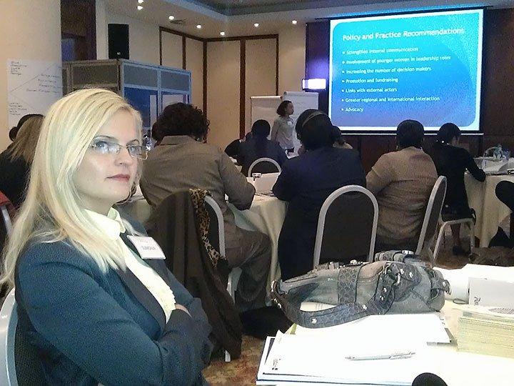 """Konferencija """"Udruživanje u svrhu promjena – udruženja žena i bezbjednosni sektor"""", Brisel"""