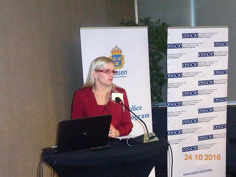 "Conference ""Women in Police – The Importance of Networking"", Belgrade"