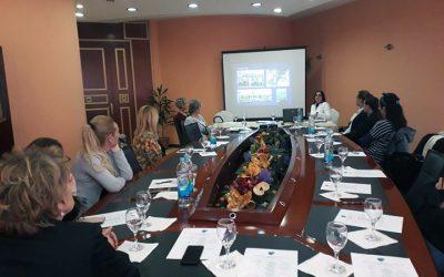 """Okrugli sto """"Јačanje uloge žena u Ministarstvu unutrašnjih poslova Republike Srpske"""", Banja Luka"""