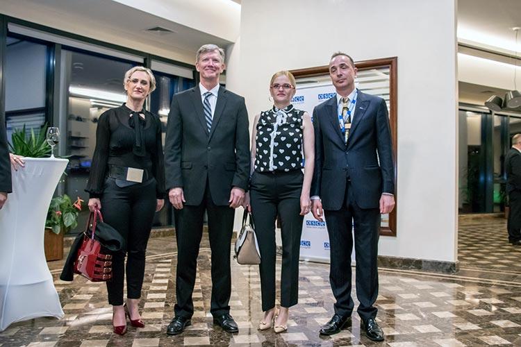 OSCE prijem Banja Luka, april 2018.