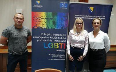 """Promocija priručnika """"Policijsko postupanje u slučajevima krivičnih djela počinjenih iz mržnje nad LGBTI osobama"""""""
